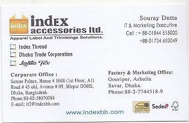 Index Accessories Ltd