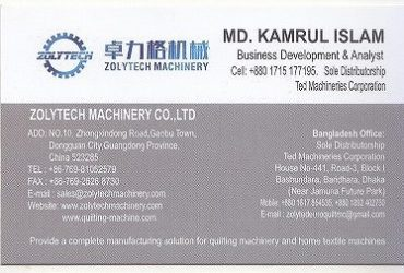 Zolytech Machinery Co Ltd