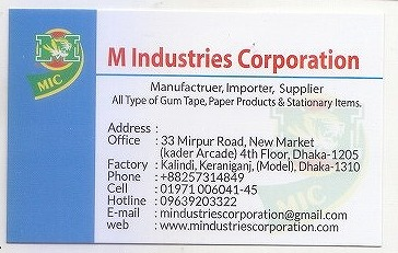 M Industries Corporation